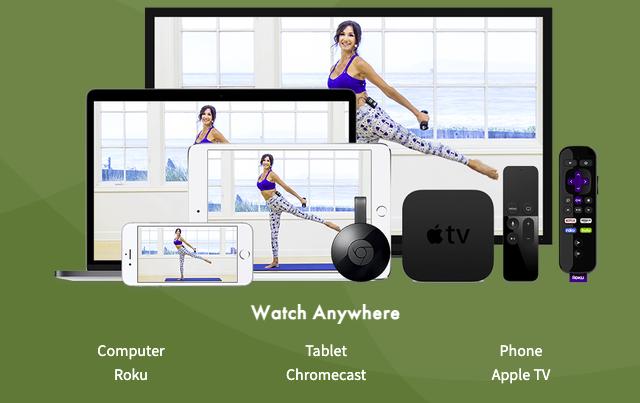 Pilates Anytime App