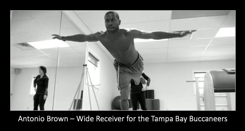 Antonio Brown Pilates Workout