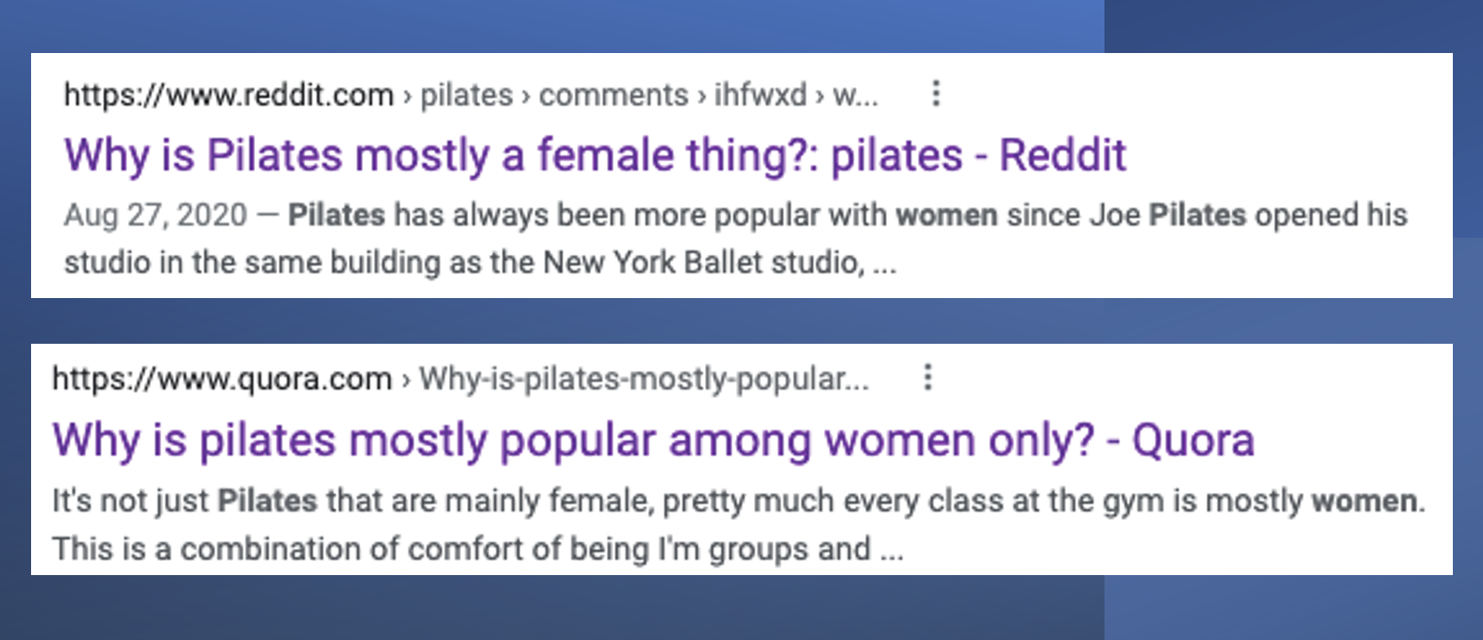 Pilates for men - Reddit and Quora