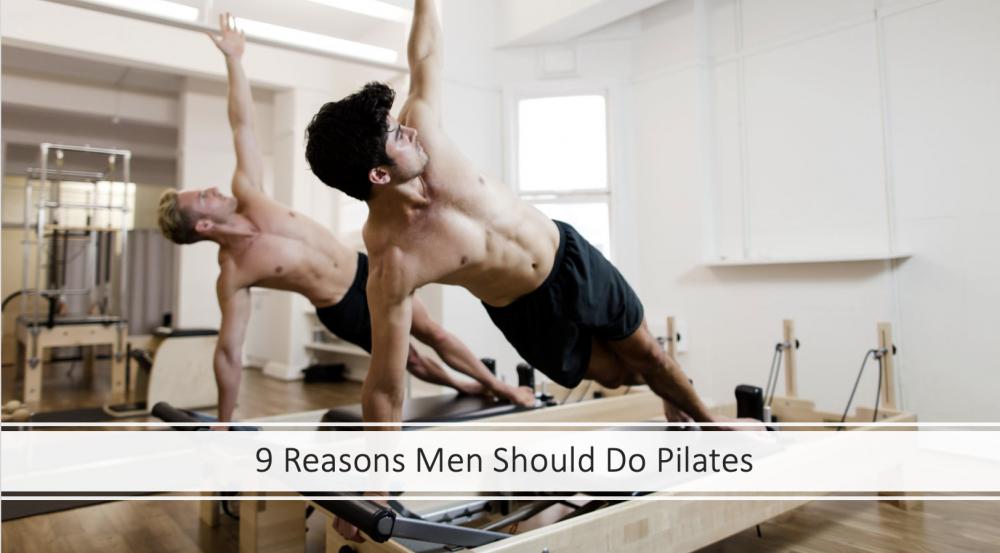 Reasons Men Should Do Pilates