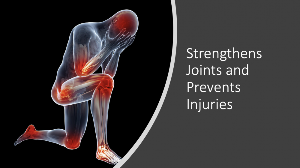 Strengthens Joints and Prevents Injuries