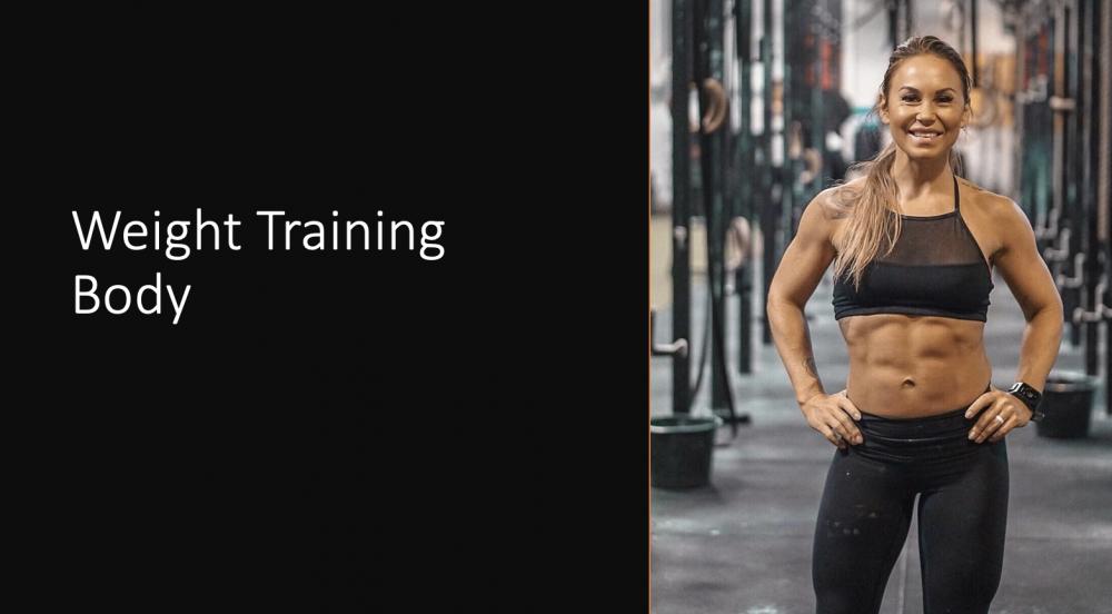 Weight Training Body
