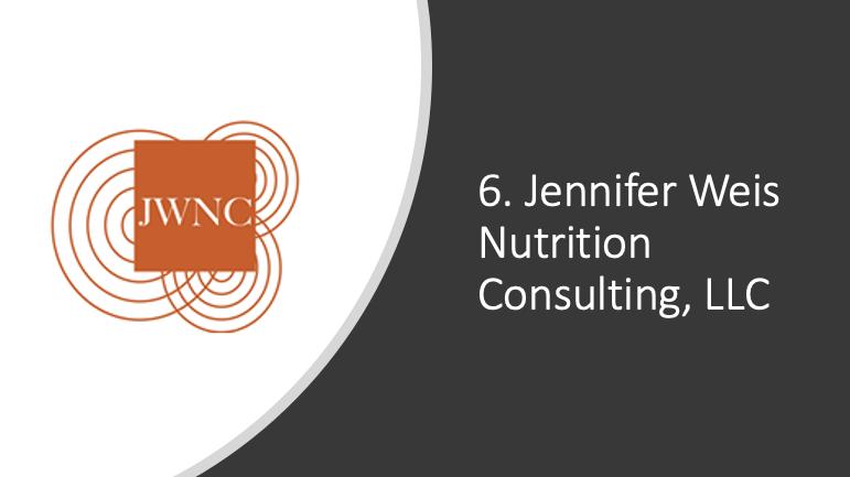 Jennifer_Weis Nutrition Consulting, LLC