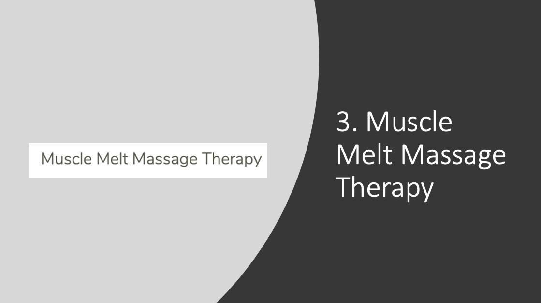Muscle Melt Massage Therapy