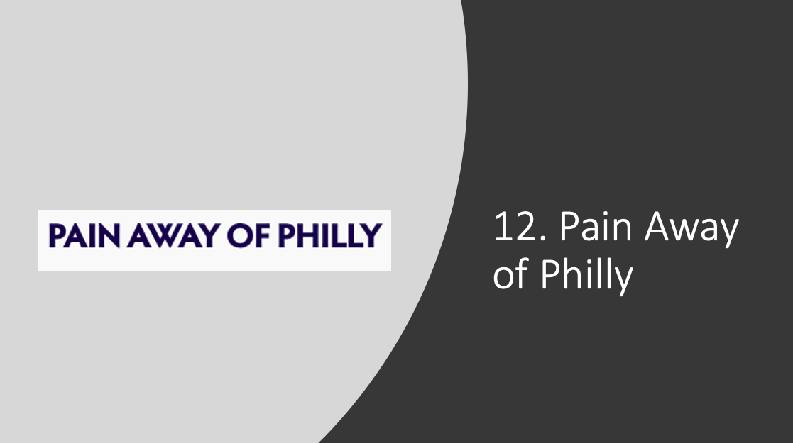 Pain Away of Philly