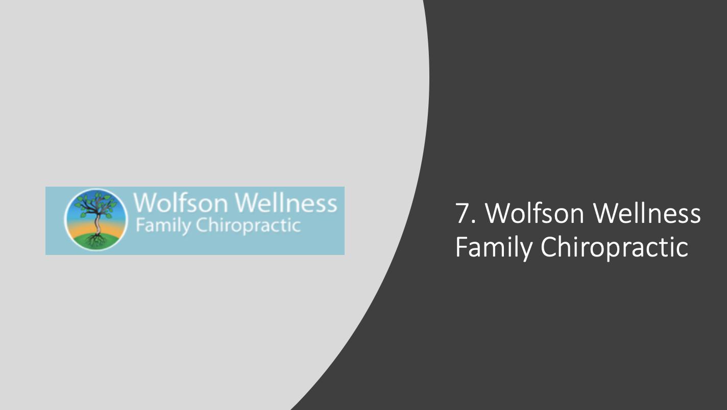 Wolfson Wellness Family Chiropractic
