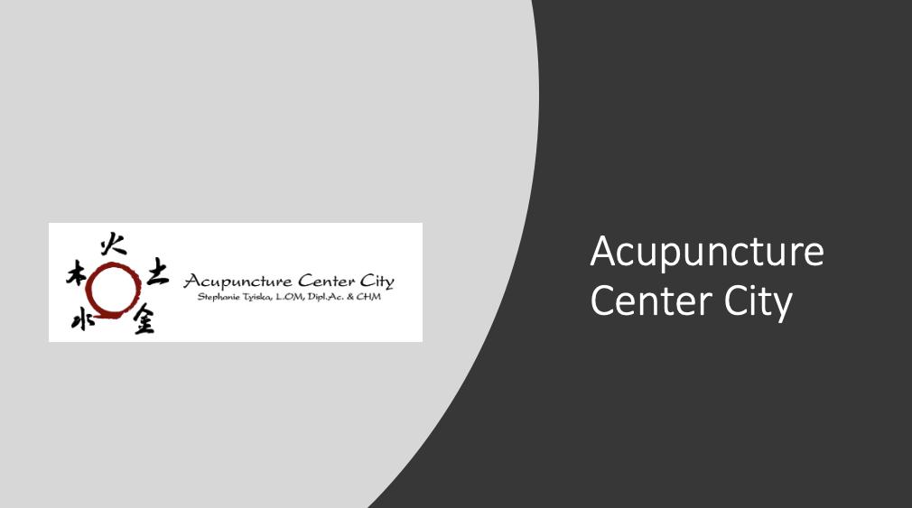 Acupuncture Center City