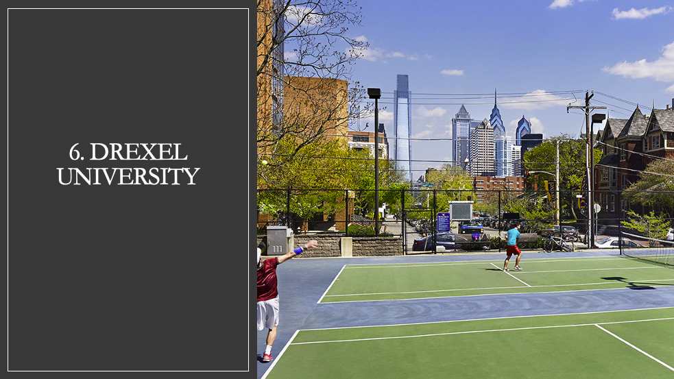 Drexel University Tennis Courts