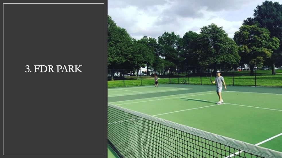 FDR Park Tennis