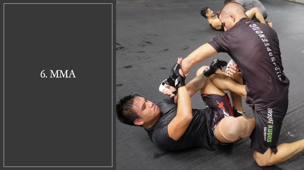 MMA in Philadelphia