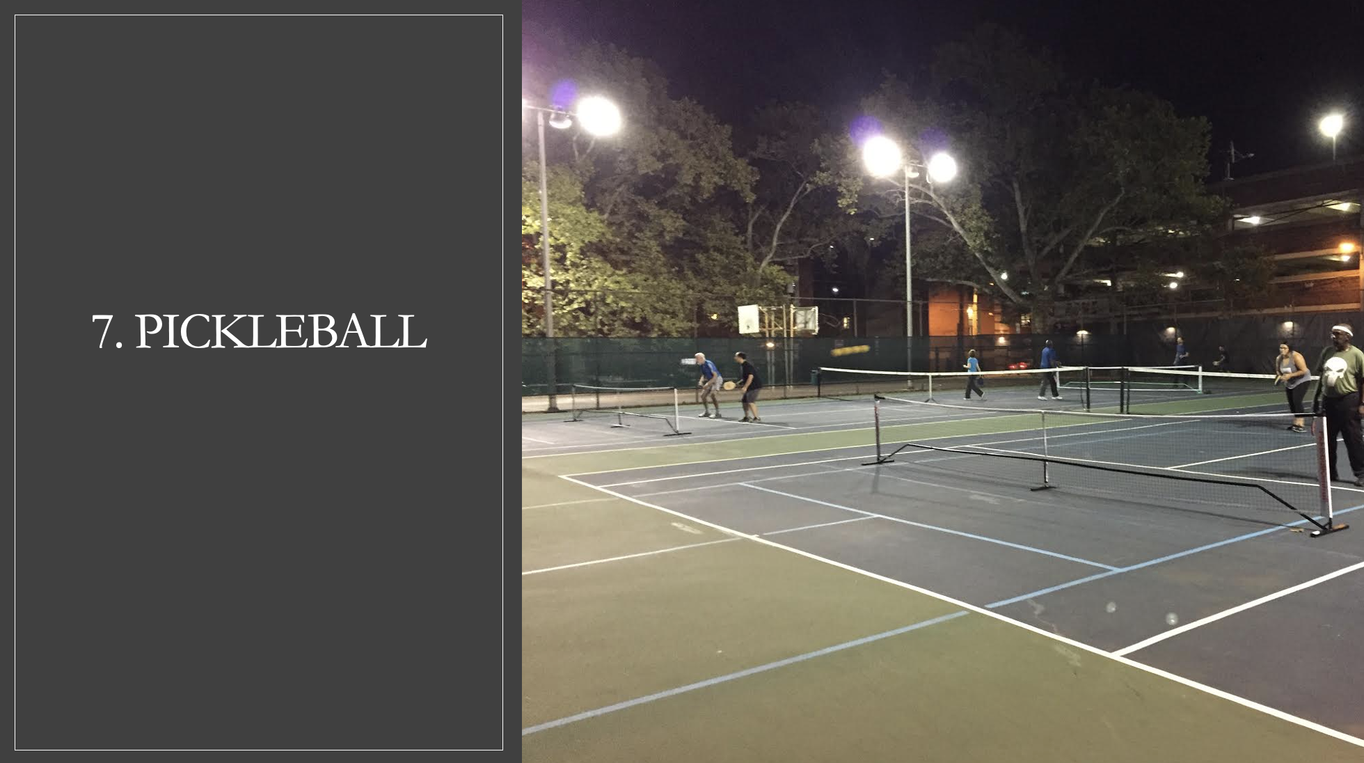 Pickleball in Philly