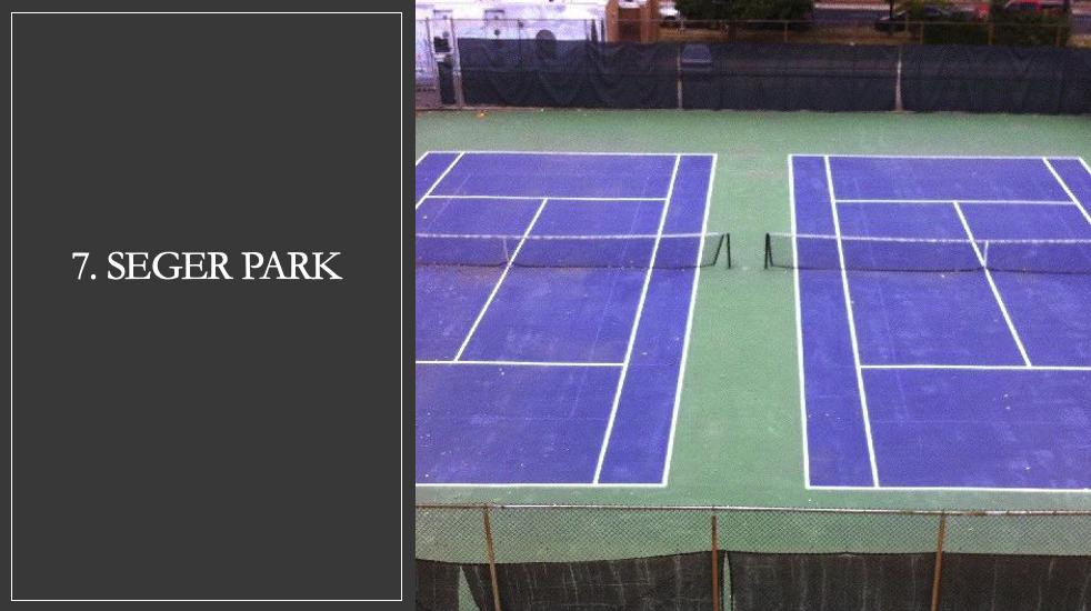 Seger Park Tennis Courts