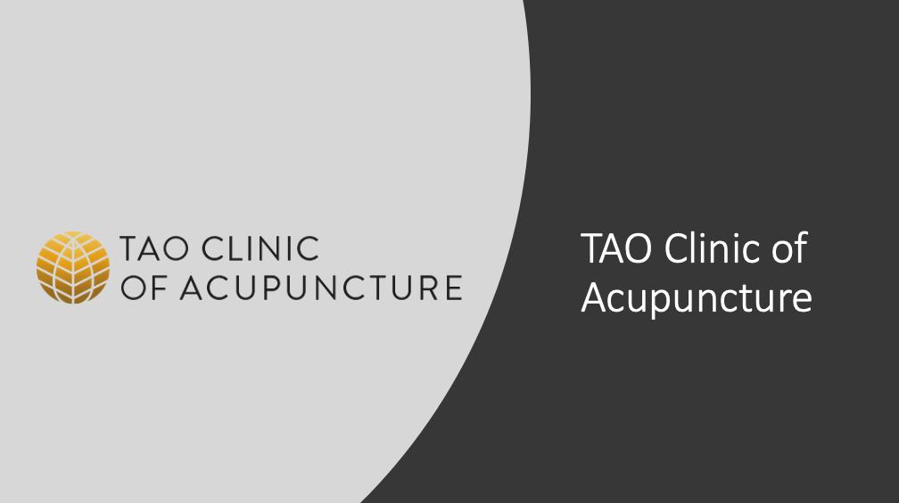 TAO Acupuncture